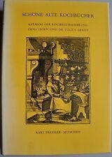 Schöne alte Kochbücher, Erna Horn, Era Horn Kochbuchsammlung, Kochbücher