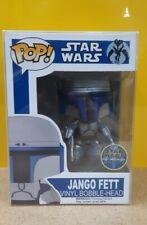 Funko Pop! EXCLUSIVE JANGO FETT STAR WARS VHTF* play & collect