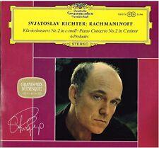 Rachmaninov: Concerto Per Pianoforte N. 2, 6 Preludi / Richter, Wislocki  LP Dgg