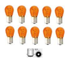 10x p21w ba15s 12v 21 vatios Orange p21w intermitentes pera cristal claro no LED