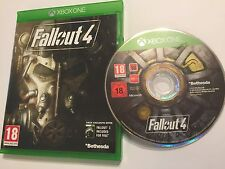 XBOX ONE XB1 GAME FALLOUT 4 FALL OUT IV DISC IS EXCELLENT