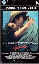 Gabriela (1983) VHS 1a Ed. Warner   Mastroianni  Sonia Braga  - rara