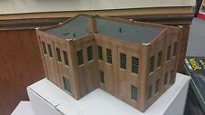 NEW HO Fully Built Factory Building Painted & Weathered -Ready For Your Business