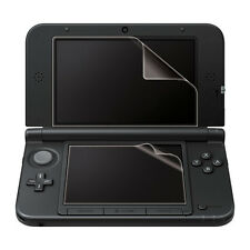 2-in-1 Top + Bottom LCD Screen Protector Kit Film Cover For Nintendo 3DS XL LL