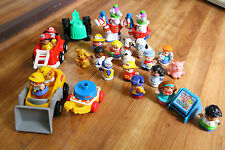 Little People Figure Lot Fisher Price Fire Truck Circus Maggies Preschool Easel