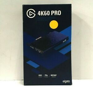 Elgato Game Capture 4K60 Pro Live Streaming Commenting Internal Recording Device