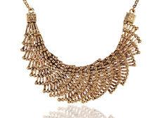 Alexandria hotJapanese Fan Overlay Design Golden Adj Choker Necklace Ali