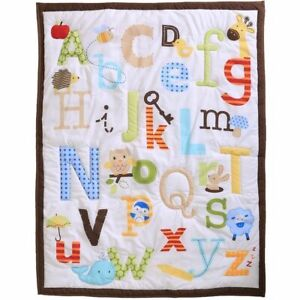 Cute Newborn Blanket Bedding Nursery Quilt Baby Crib Comforter For Girls Boys