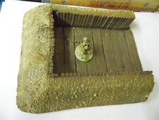 28MM PMC GAMES BB01 (PAINTED) TANK OR SUPPORT GUN HULL DOWN BUNKER
