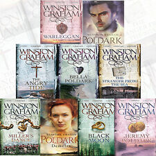 Poldark Series Collection 9 Books Set by Winston Graham (Ross Poldark,Demelza)PB