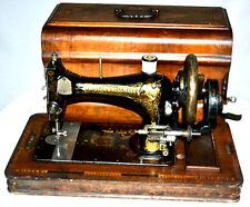 1900's Frister & Rossmann Hand Crank Sewing Machine [PL2863]
