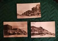 3 Vintage Picture Postcards1930's Fairbury Nebraska Unsed Great Condition