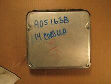 14 TOYOTA COROLLA S 23K MILES 1.8L AT ECM ECU COMPUTER 89661-0ZD41