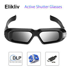 AX-30 3D Active Shutter Glasses DLP-Link 96-144HZ For Dell Sony BenQ Projectors