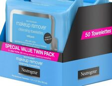 Daily Makeup Remover Cleansing Face Wipes, Alcohol-Free, 25 Count (2 Pack)