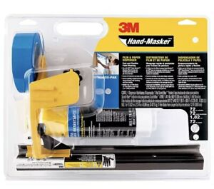 Scotchblue M3000 PAK Hand-Masker Pre Folded Masking Film Kit - Yellow/Blue/Black