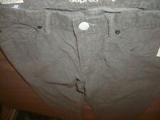 GAP Kids 1969 Gray Corduroy Pants Size 18R   (C5)