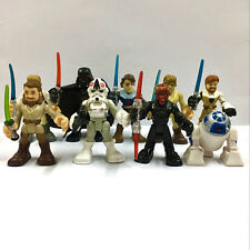 Random 5pcs Dolls Star Wars Playskool Galactic Heroes Jedi Force Figure Toy Gift