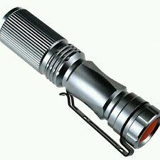 Alto Brillo modo largo Mini LED linterna antorcha el foco el zoom Luz la