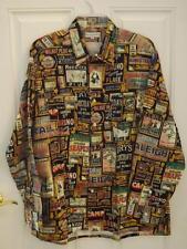 NWOT Maus Hoffman Long Sleeve Shirt XL Never Worn Vintage Labels