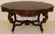 GOOD QUALITY ANTIQUE 19TH CENTURY ROSEWOOD CENTRE TABLE