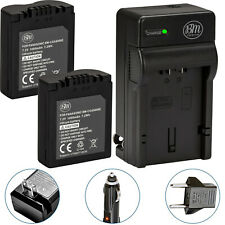 BM CGA-S006 2X Batteries & Charger for Panasonic Lumix DMC-FZ30,FZ35,FZ38,FZ50