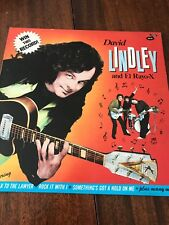 David Lindley El Rayo-X Win This Record Jackson Browne Asylum Records LP