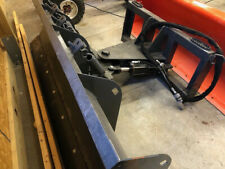 """New 72"""" Hydraulic Snow Plow For Compact Tractor With Third Function Valve"""
