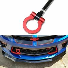 Sporty Customize Red Track Racing CNC Tow Hook for Chevrolet Camaro SS ZL1 2016+