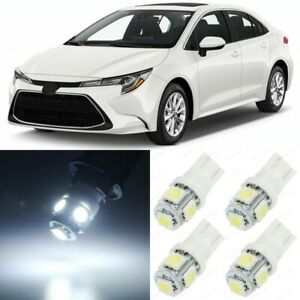 10 x Xenon White Interior LED Lights Package For 2016- 2020 Toyota Corolla +TOOL