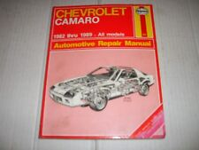 Haynes Repair Manual Chevrolet Camaro 1982 - 1989 All Models 866