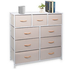 9 Drawer Dresser Bedroom Decor Furniture Storage Chest Organizer Closet Cabinet