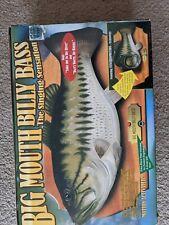 New listing Vtg Big Mouth Billy Bass 1998 Original New Motion Activated Singing Sensation