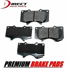TOYOTA PREMIUM FRONT BRAKE PADS FOR TOYOTA TACOMA 6 LUG WHEELS ONLY 2005 - 2016