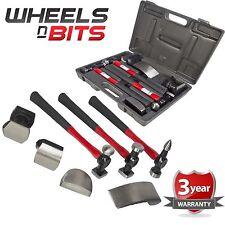 Martillos 7PC Coche Auto Cuerpo Panel Kit de herramientas de reparación con asas de fibra de vidrio paliza