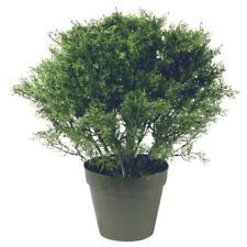 Artificial 20 in. Global Juniper Faux Tree in Dark Green Round Growers Pot Decor