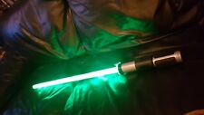 Star Wars Yoda Jedi Ultimate FX Lightsaber Hasbro. Not Force FX or M Replicas