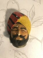 Vintage Legend Chalkware INDIAN PRINCE Collectible Bossons