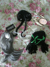 Lot of 4 Wigs size 10 11 12 for Ag and other dolls - Brand New