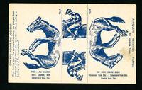 US Postcard Early 1930 Hotel Dixie Jockey & Horse Photo