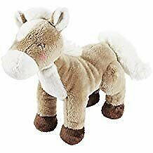 NWT Carters Plush Tan Beige Brown White Horse Pony Baby Toy Stuffed Animal 67071