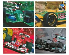 Art Card Michael Schumacher's F1 teams by Toon Nagtegaal (OE)