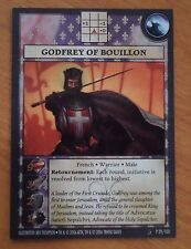 ANACHRONISM, GODFREY OF BOUILLON PROMO CARD, HISTORY CHANNEL GAME