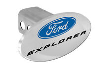 "Ford Explorer Trailer Tow Hitch Cover Plug Emblem 2"" Receiver Tow Plug Cap OEM"