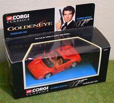 CORGI DIE CAST JAMES BOND 007 GOLDENEYE FERRARI 355 92978