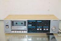 Vintage 1983 Sanyo RD 220 Stereo Cassette Deck Japan Dolby