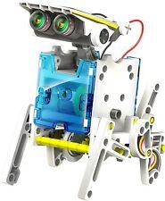 14 in 1 Educational Solar Robot Kit fai da te Multi Set per bambini * NUOVO * gratis P&P