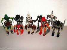 LOT DE LEGO BIONICLE REF 8532 8535 8536 8560 8563 8566 x 2 8568 8572 8588 (n°11)