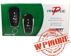 Audiovox Prestige APS687TWE 2-Way LED 2500-FT Range Remote Start Keyless Entry