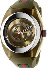 Gucci SYNC XXL Military khaki  YA137106 Watch For Men